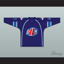 Philippe Lalumiere 61 Le National de Quebec Home Hockey Jersey- Lance et compte (He Shoots, He Scores)