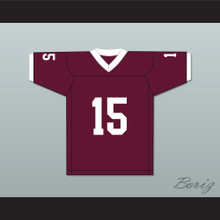 Aaron Hernandez 15 Bristol Central Rams Maroon Football Jersey Version 1 Killer Inside: The Mind of Aaron Hernandez