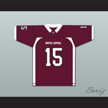 Aaron Hernandez 15 Bristol Central Rams Maroon Football Jersey Version 2 Killer Inside: The Mind of Aaron Hernandez