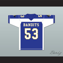 Odin Lloyd 53 Boston Bandits Blue Football Jersey Killer Inside: The Mind of Aaron Hernandez