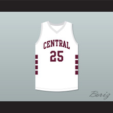 Aaron Hernandez 25 Bristol Central Rams White Basketball Jersey Killer Inside: The Mind of Aaron Hernandez