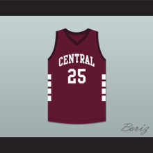 Aaron Hernandez 25 Bristol Central Rams Maroon Basketball Jersey Killer Inside: The Mind of Aaron Hernandez