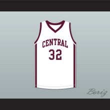 Aaron Hernandez 32 Bristol Central Rams White Basketball Jersey Killer Inside: The Mind of Aaron Hernandez