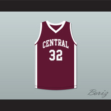 Aaron Hernandez 32 Bristol Central Rams Maroon Basketball Jersey Killer Inside: The Mind of Aaron Hernandez
