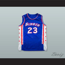 Joe Jellybean Bryant 23 Philadelphia Blue Basketball Jersey