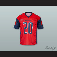 Houston 20 Home Red Football Jersey