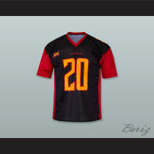 Los Angeles 20 Home Black Football Jersey