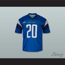 St Louis 20 Home Blue Football Jersey