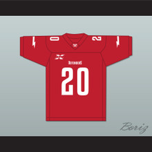 20 Washington DC Home Football Jersey