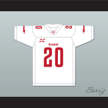 20 Washington DC Away Football Jersey