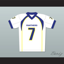 Friday Night Lights Matt Saracen 7 Dillon Panthers Football Jersey White