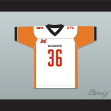 Ahmad Dixon 36 Los Angeles Away Football Jersey