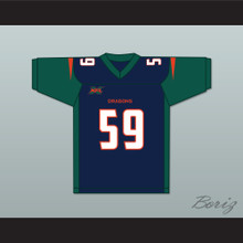 Steven Johnson 59 Seattle Home Football Jersey