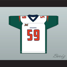 Steven Johnson 59 Seattle Away Football Jersey