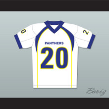 Friday Night Lights Brian 'Smash' Williams 20 Dillon High School Panthers Football Jersey White