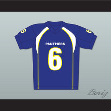 Jason Street 6 Dillon Panthers Football Jersey Friday Night Lights Blue