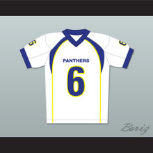 Jason Street 6 Dillon Panthers Football Jersey Friday Night Lights White