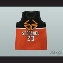 1985 Stefanel Trieste Michael Jordan Exhibition Game Basketball Jersey