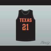 Alex Caruso 21 Texas D1 Ambassadors AAU Black Basketball Jersey 2