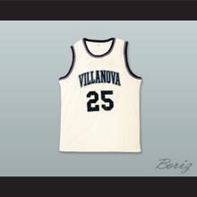 Mikal Bridges 25 Villanova White Basketball Jersey
