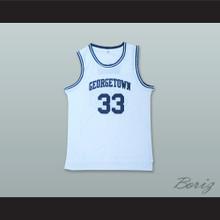 Patrick Ewing 33 Georgetown White Basketball Jersey