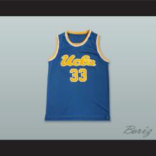 Kareem Abdul-Jabbar 33 UCLA Blue Basketball Jersey 1