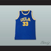 Kareem Abdul-Jabbar 33 UCLA Blue Basketball Jersey 2