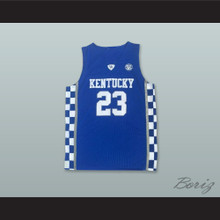 Anthony Davis 23 Kentucky Blue Basketball Jersey