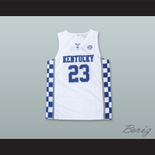 Anthony Davis 23 Kentucky White Basketball Jersey