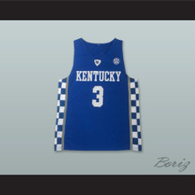 Bam Adebayo 3 Kentucky Blue Basketball Jersey