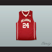 Buddy Hield 24 Oklahoma Red Basketball Jersey