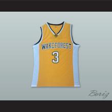 Chris Paul 3 Wake Forest Yellow Basketball Jersey