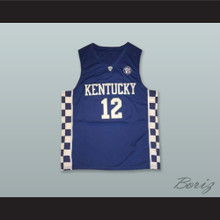 Karl-Anthony Towns 12 Kentucky Blue Basketball Jersey