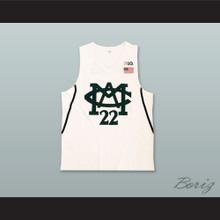 Miles Bridges 22 Michigan State White Basketball Jersey