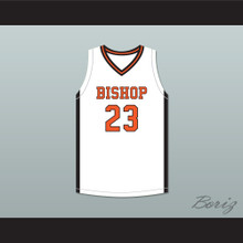 Bobby Freeze 23 Bishop Hayes Tigers White Basketball Jersey The Way Back