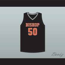 Marcus Parrish 50 Bishop Hayes Tigers Away Basketball Jersey The Way Back