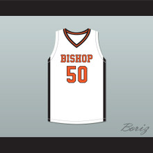 Marcus Parrish 50 Bishop Hayes Tigers White Basketball Jersey The Way Back