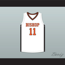 Kenny Dawes 11 Bishop Hayes Tigers White Basketball Jersey The Way Back