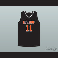 Kenny Dawes 11 Bishop Hayes Tigers Black Basketball Jersey The Way Back