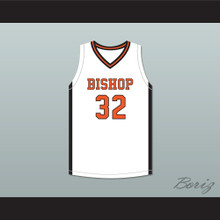 Sam Garcia 32 Bishop Hayes Tigers Home Basketball Jersey The Way Back