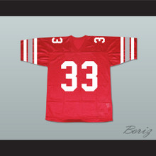 Forest Whitaker Charles Jefferson Ridgemont High School Wolves Football Jersey