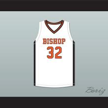 Sam Garcia 32 Bishop Hayes Tigers White Basketball Jersey The Way Back