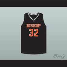 Sam Garcia 32 Bishop Hayes Tigers Black Basketball Jersey The Way Back
