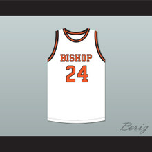 Jack Cunningham 24 Bishop Hayes Tigers White Basketball Jersey The Way Back