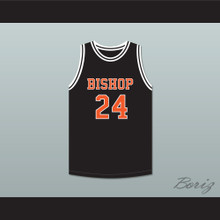 Jack Cunningham 24 Bishop Hayes Tigers Black Basketball Jersey The Way Back
