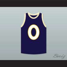 Busta Rhymes 0 Monstars Dark Blue Basketball Jersey Hit Em High