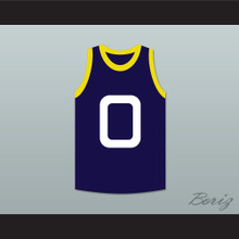 Bang 0 Monstars Dark Blue Basketball Jersey Space Jam