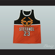 1985 Stefanel Trieste Michael Jordan Exhibition Game Basketball Jersey Alternate Style