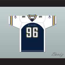 Jamal 'Deathblow' Duff 96 Los Angeles Xtreme Home Football Jersey