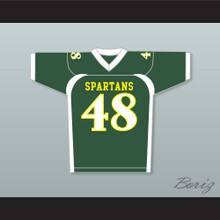 Rob Gronkowski 48 Williamsville North High School Spartans Football Jersey Green